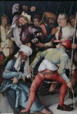 Matthias Grünewald: The Mocking of Christ