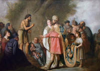Pieter de Grebber: St John the Baptist and Herod Antipas