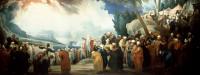 Moses chooses seventy elders (1737)