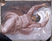 Michelangelo Buonarroti: The Separation of Light and Darkness