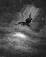 Gustave Doré: Satan descends upon Earth