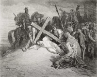 Jesus Collapses Under the Cross