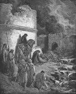 Gustave Doré: Nehemiah Inspects Jerusalem's Walls