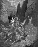 Gustave Doré: The Vision of the Four Chariots