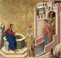 Duccio di Buoninsegna: The Samaritan Woman