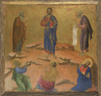 Duccio di Buoninsegna: The Transfiguration