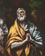 El Greco: The Repentant St. Peter