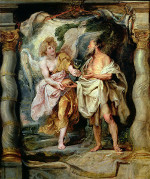 An Angel Gives Bread and Water to Elijah