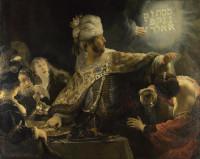 Rembrandt Harmensz. van Rijn: Belshazzar's Feast