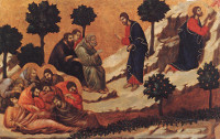 Duccio di Buoninsegna: Prayer on the Mount of Olives