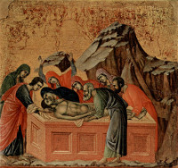 Duccio di Buoninsegna: The Entombment