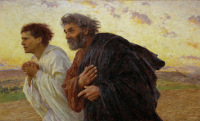 Peter and John Running to the Tomb