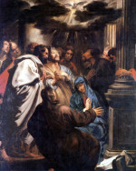 Anthony Van Dyck: The Descent of the Holy Spirit