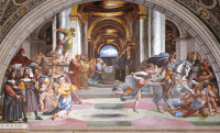 Raphael: The Expulsion of Heliodorus from the Temple