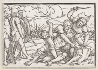 Hans Holbein the Younger: The punishment of Adonibezek