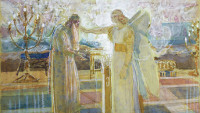 Alexander Ivanov: The Angel Appears to Zacharias