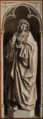 Jan van Eyck: John the Evangelist