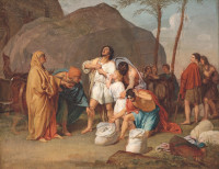 Joseph's Brothers Find the Silver Goblet in Benjamin's Sack