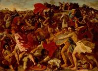 Nicolas Poussin: Joshua Fights Amalek