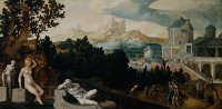 Landscape with Bathsheba