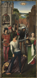 Hans Memling: Salome with the Head of the Baptist
