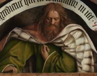Jan van Eyck: The Prophet Micah