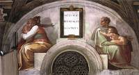 Michelangelo Buonarroti: Josiah, Jechoniah and Shealtiel