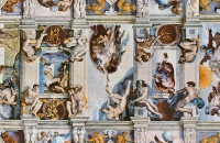 Michelangelo Buonarroti: Scenes from Genesis (the ceiling)