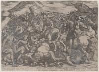 Jan Lievens: Moses Praying While Joshua Fights the Amelekites