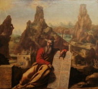 Jacques de Létin: Moses at Mount Sinai
