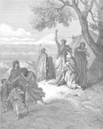 Gustave Doré: Noah Curses Canaan