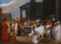 Adriaen van Stalbemt: Paul and Barnabas at Lystra