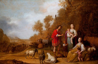 Pieter Potter: Jacob persuades Leah and Rachel to flee