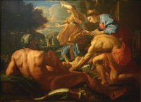 Nicolas Poussin: Moses abandoned