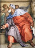 Michelangelo Buonarroti: The Prophet Ezekiel