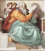 Michelangelo Buonarroti: The Prophet Zechariah