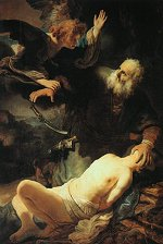 The Angel Prevents the Sacrifice of Isaac (1635)