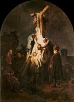 Rembrandt Harmensz. van Rijn: The Descent from the Cross