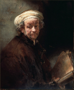 Rembrandt Harmensz. van Rijn: The apostle Paul (1659)