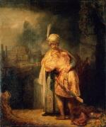 Rembrandt Harmensz. van Rijn: David's Farewell to Jonathan