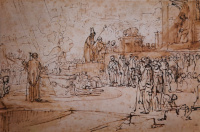 Rembrandt Harmensz. van Rijn: God's Judgement on Mount Carmel