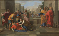 Nicolas Poussin: Death of Sapphira
