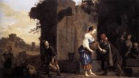 Salomon de Bray: Rebecca and Eliezer at the Well