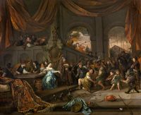 Jan Havicksz. Steen: The Mocking of Samson
