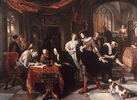 Jan Havicksz. Steen: The Marriage of Tobias and Sara