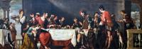 Bernardo Strozzi: Banquet at the House of Simon