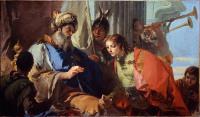 Giovan Battista Tiepolo: Pharaoh gives his ring to Joseph