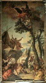 Giovanni Battista Tiepolo: The Gathering of Manna