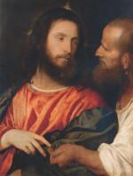 Titian: The Tribute Money (Dresden)