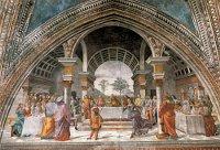 Domenico Ghirlandaio: Herod's Banquet